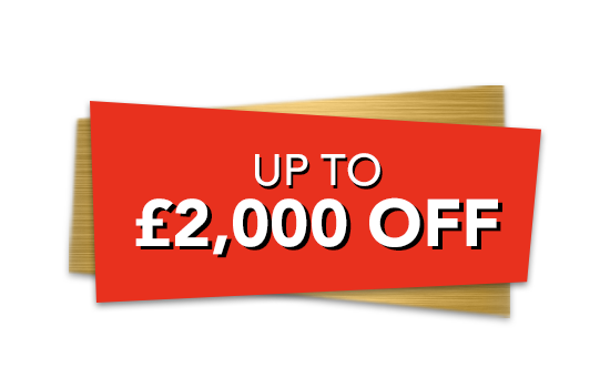 Up to £2,000 off