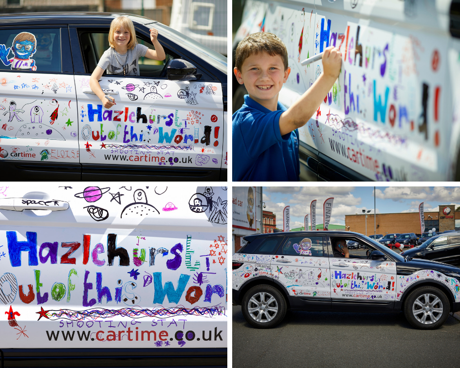 Main image for post: OUT-OF-THIS-WORLD CAR DESIGN SECURES PRIZE FOR HAZELHURST SCHOOL