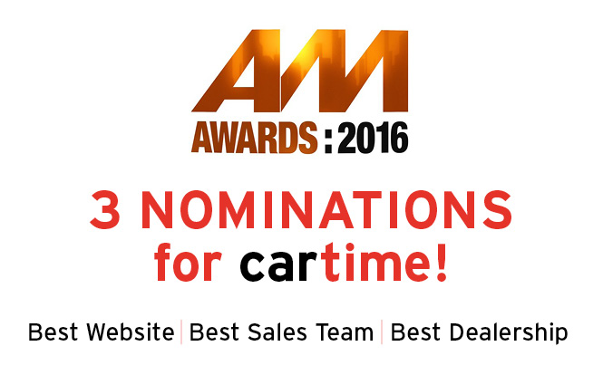 Main image for post: We've Been Nominated for Three AM Awards!