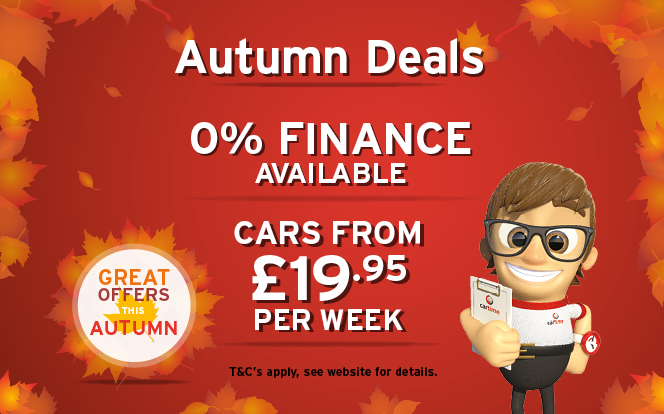 Main image for post: cartime Presents… Autumn Time Deals!