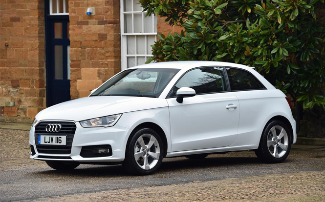 Main image for post: Audi A1 wins cartime Car of the Month May 2017