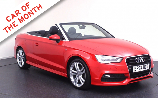 Main image for post: Audi A3 and Cabriolet are our January Car of the Month