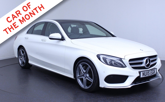 Main image for post: Mercedes C-Class named cartime's Car of the Month