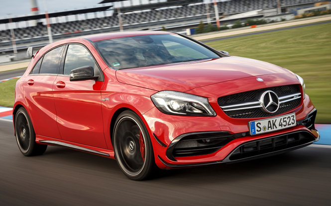 Main image for post: Why is the Mercedes A-Class so popular?