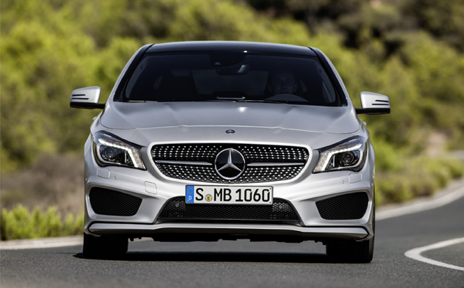 Main image for post: cartime's June 2017 Car of the Month is the Mercedes-Benz CLA-Class
