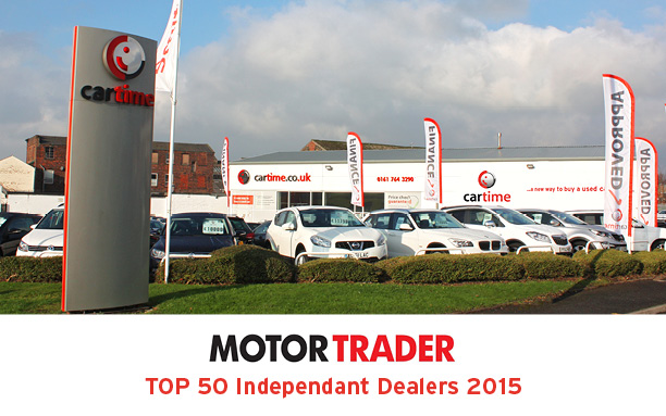 Main image for post: We're a Contender for the Top 50 Independent Car Dealers of 2015