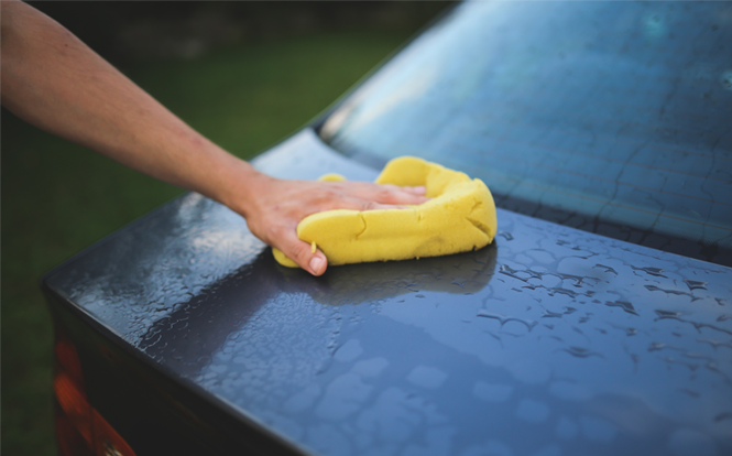 Main image for post: Top five tips for giving your car a spring clean