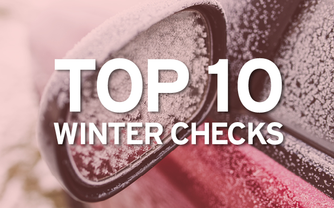 Main image for post: Top 10 car checks with winter on the way
