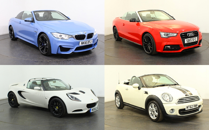 Main image for post: It's a hot hot summer - time to test drive a convertible?